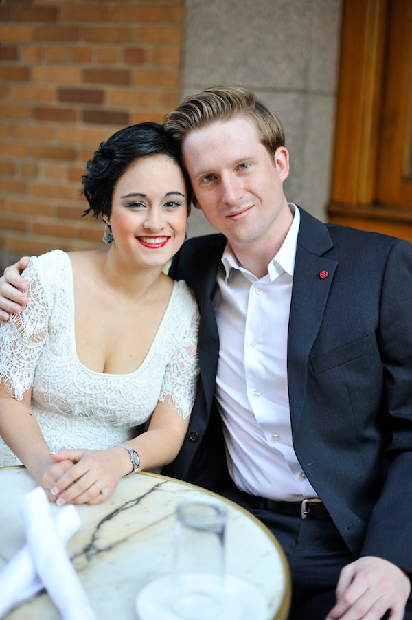 A Wedding Photo Of Jon And Sayra, Past Family-Based Immigration Clients - Tran Law Associates